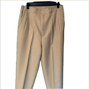 Valentino Womens Pleated Pants Slacks Medium RARE